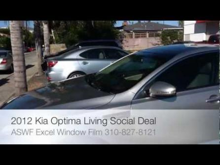 2012 Kia Optima Living Soical Window Tint ASWF Excel