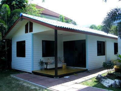 รับสร้างบ้านน็อคดาวน์  รับสร้างบ้านสำเร็จรูป