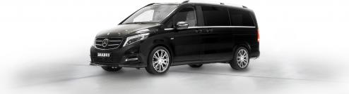 Luxury car rental with V-class