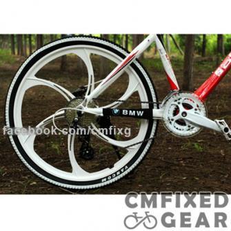 ขายรถจักรยานเสือภูเขา BMW MTB ล้อแม็กรุ่นพิเศษสวยมาก ราคากันเอง