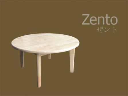 จำหน่ายโต๊ะญี่ปุ่นกลม สีธรรมชาติ สำหรับร้านกาแฟ ร้านเบเกอรี่