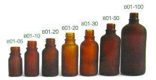 Glass bottle package
