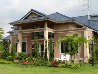 บ้านใหม่บ้านเดียวสไตย์รีสอร์ท หรู 8 นอน 9 น้ำ จากุซซี่ 3 ใบ ซาวน่า สวนสวยสไตย์บาหลี พร้อมศาลาริมน้ำในราคาไม่แพง
