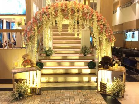 งานแต่ง ห้องจัดเลี้ยงฮั่วเซ่งฮง สาขาราชพฤกษ์