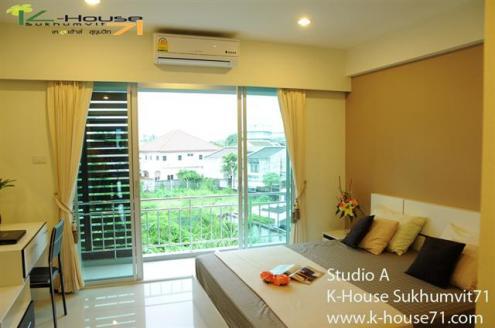ย่านสุขุมวิท K-House sukhumvit71 อพาร์ทเม้นท์หรู ย่านสุขุมวิท,สุขุมวิท71  Apartment in Sukhumvit , near BTS  Tel.088-5245959