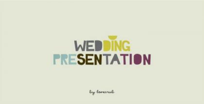 ด่วน!! ลดทันที 30% Wedding Presentation by lovecru