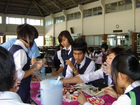 การสอนนอกพื้นที่โรงเรียนมารีย์บริหารธุรกิจ