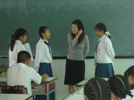การสอนนอกพื้นที่โรงเรียนมารีย์วิทยา