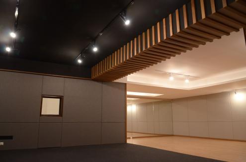 ผลงานห้องซ้อมดนตรี บริษัทบริหารสินทรัพย์ กรุงเทพพาณิชย์