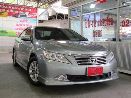 2012 Toyota Camry 2.0 (ปี 12-16) G Sedan ATฟรีดาวน์ ผ่อน 12XXX รถมือเดียว โฉมใหม่มีประวัติศูนย์ครบ สภาพดีมากๆ