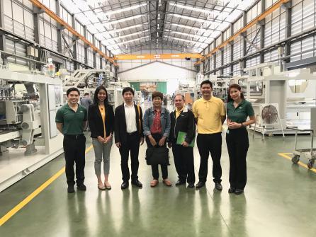 ขอขอบคุณเจ้าหน้าที่ จาก กรมส่งเสริมอุตสาหกรรม DIP & SMRJ (ไทย-ญี่ปุ่น) เพื่อมาเยี่ยมชมโรงงาน และ ติดตามผลจากโครงการ Digital Value Chain