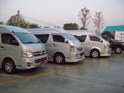 รถตู้วีไอพี รถบัสสองชั้น บัสเทค ให้เช่า พร้อมคนขับ