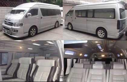 ให้บริการเช่ารถตู้VIP น้ำมันดีเซล, ก๊าซเอ็นจีวี NGV เดินทางเที่ยวทั่วไทย ท่องเที่ยว สัมมนา ธุรกิจ บริการดี 0817331023