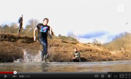 เทคนิควิชาตัวเบา วิ่งบนน้ำ