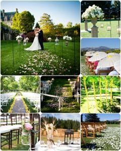 รูปแบบงานแต่งงานในสวน