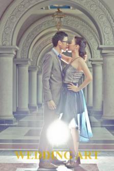 The Love Sassy Blue Pre-wedding Theme by www.weddingartplanner.com