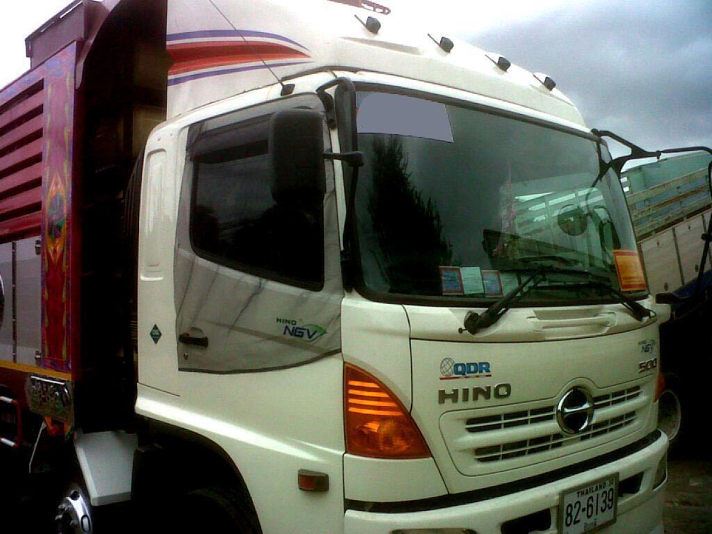 ผ้ามุ้งรถบรรทุก 10ล้อ Hino MEGA