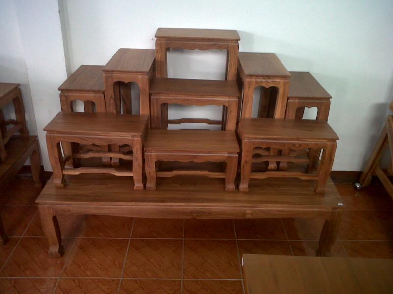 โต๊ะหมู่บูชา 9x9