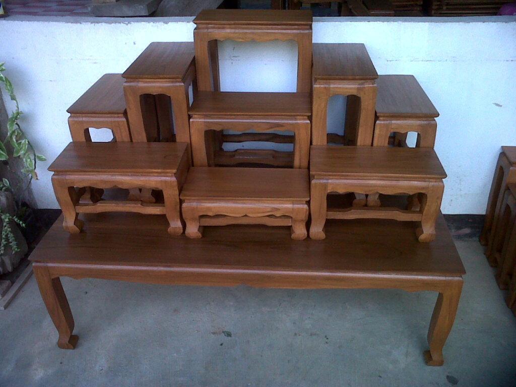 โต๊ะหมู่บูชา 9x7