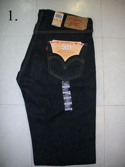 จำหน่ายกางเกงยีนส์ ลีวายส์ 501 U S A Maxico ของนอกแท้ 100