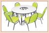 โต๊ะประชุมพับได้ พร้อมเก้าอี้