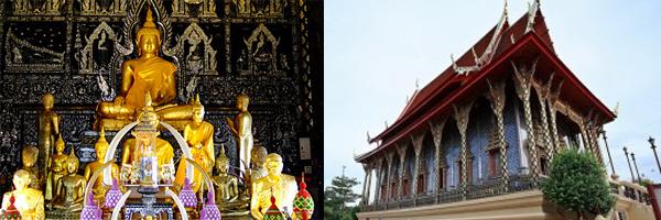 ชมความวิจิตรงดงามของพระอุโบสถไม้สักทองฝังมุก สักการะ นมัสการหลวงพ่อโต ณ วัดศรัทธาธรรม
