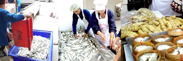 เยี่ยมชมวิสาหกิจชุมชนเบอร์เกอร์ปลาทูไทย และอาหารทะเลแปรรูปปลอดสาร