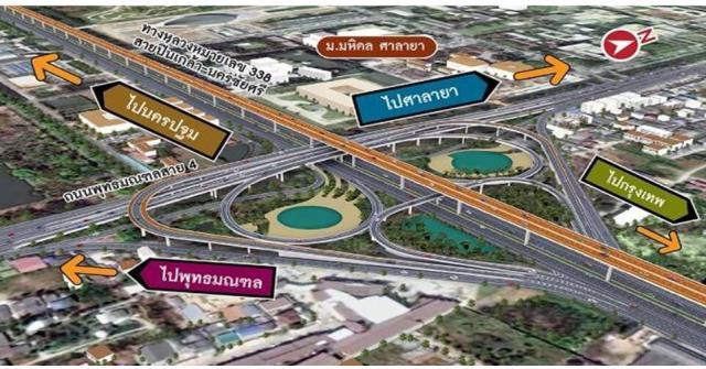 เสร็จปีหน้า! ปรับปรุงทางต่างระดับฉิมพลีและพุทธมณฑลสาย 4 แก้รถติดรับต่อขยายทางคู่ขนานลอยฟ้าบรมราชชนนี