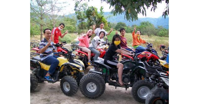 กิจกรรม ขับรถ ATV ประจำเดือนมิถุนายน  (TEST)