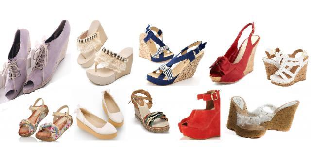 รองเท้าส้นเตารีด แฟชั่นเสริมสูงสวยมั่นใจ