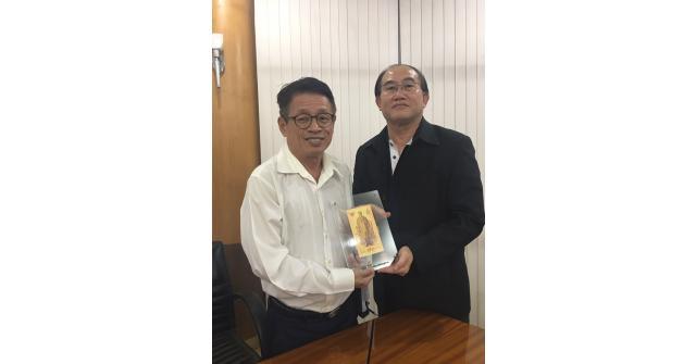 กกจ.สพม. เข้าพบคณะผู้บริหารสมาคมสันนิบาตเทศบาลแห่งประเทศไทย