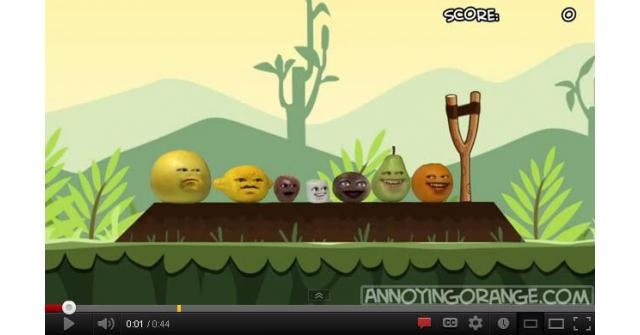 Annoying Orange vs Angry Birds: PASSION FRUIT