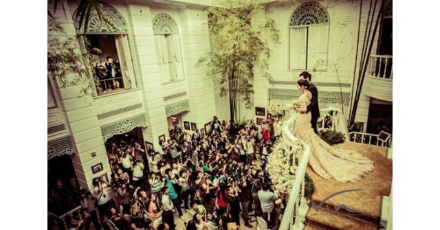 ภาพงาม ๆ หวานปนซึ้ง จากงานแต่งแอฟ-สงกรานต์