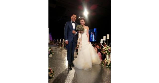 ชยาภา วงศ์สวัสดิ์ แต่งงาน นัม ลินัล ดูภาพ งานแต่งลูกสมชาย