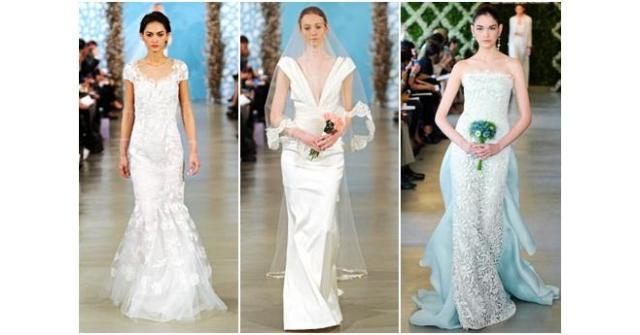 แฟชั่นชุดแต่งงานสุดหรูจาก Oscar de la Renta Spring 2014